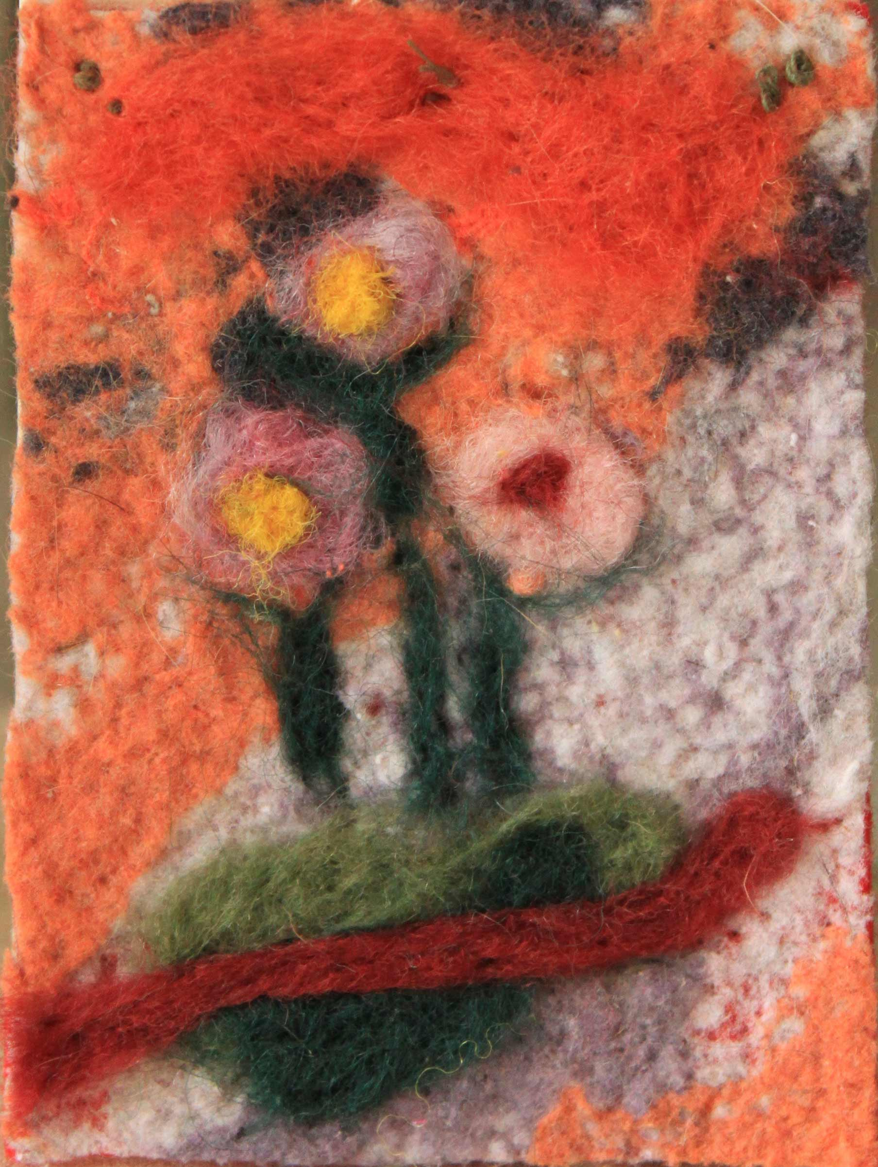 lint and flowers